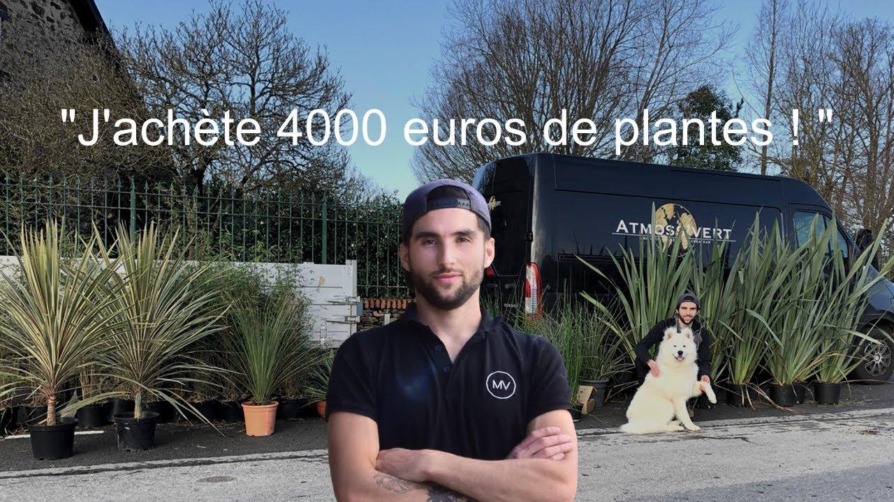 J'achète pour 4000 euros de plantes !!! Ep 7 Garden drive design #transformation #plante #love