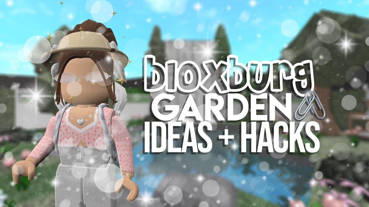BLOXBURG || Gardening + Yard Ideas (Roblox)