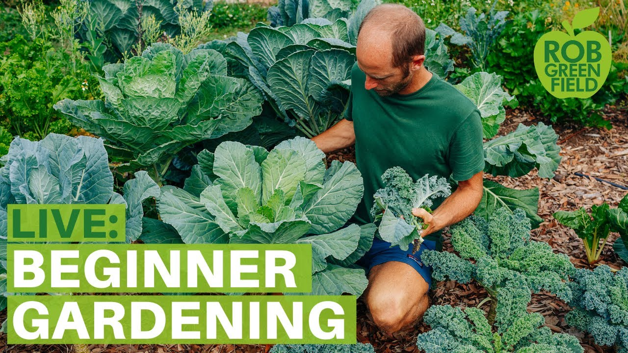 Rob Greenfield Live: Gardening for Beginners – Grow Your Own Food