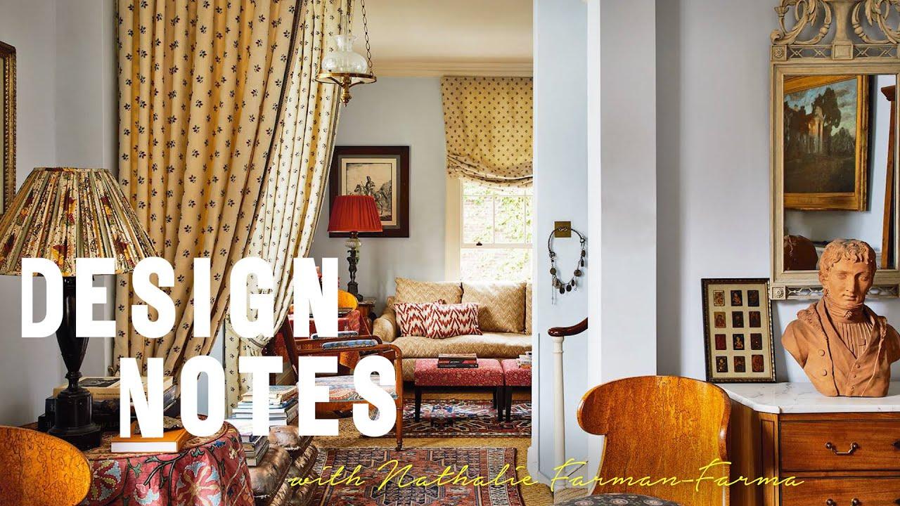 Nathalie Farman-Farma shows us around her pattern-filled house | Design Notes | House & Garden